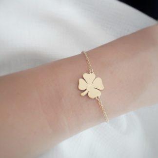 bracelet trefle