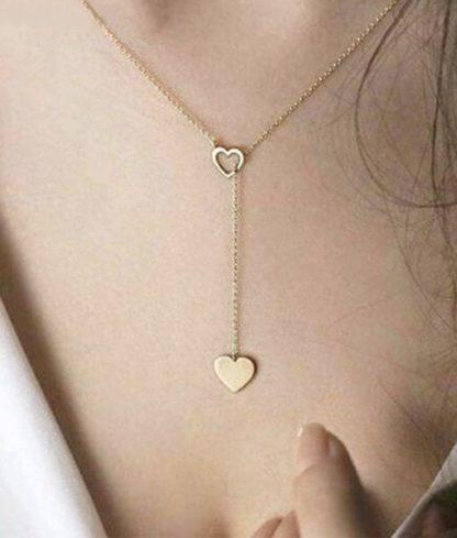 collier coeur or cadeau