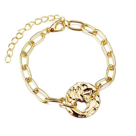 bracelet medaille tendance
