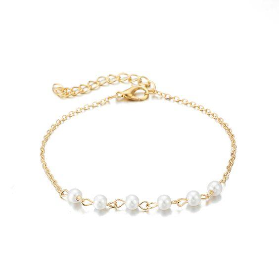 bracelet perles fantaisie