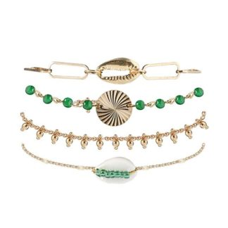bracelet tendance vert