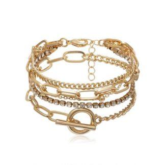 bracelets tendance dores