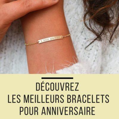 bracelets offrir anniversaire femme