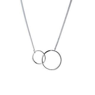 Collier double cercle cadeau