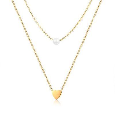 bijoux fantaisie coeur tendance femme