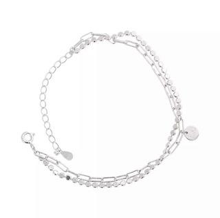 bracelet deux rangs argent cadeau